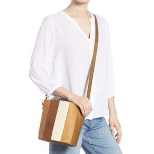 NWT Madewell Eaton Crossbody Bucket Handbag